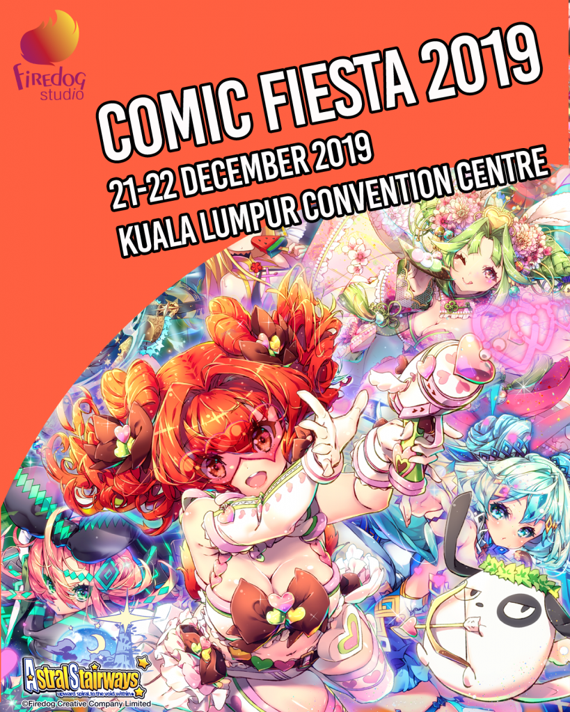 Firedog in Comics Fiesta 2019