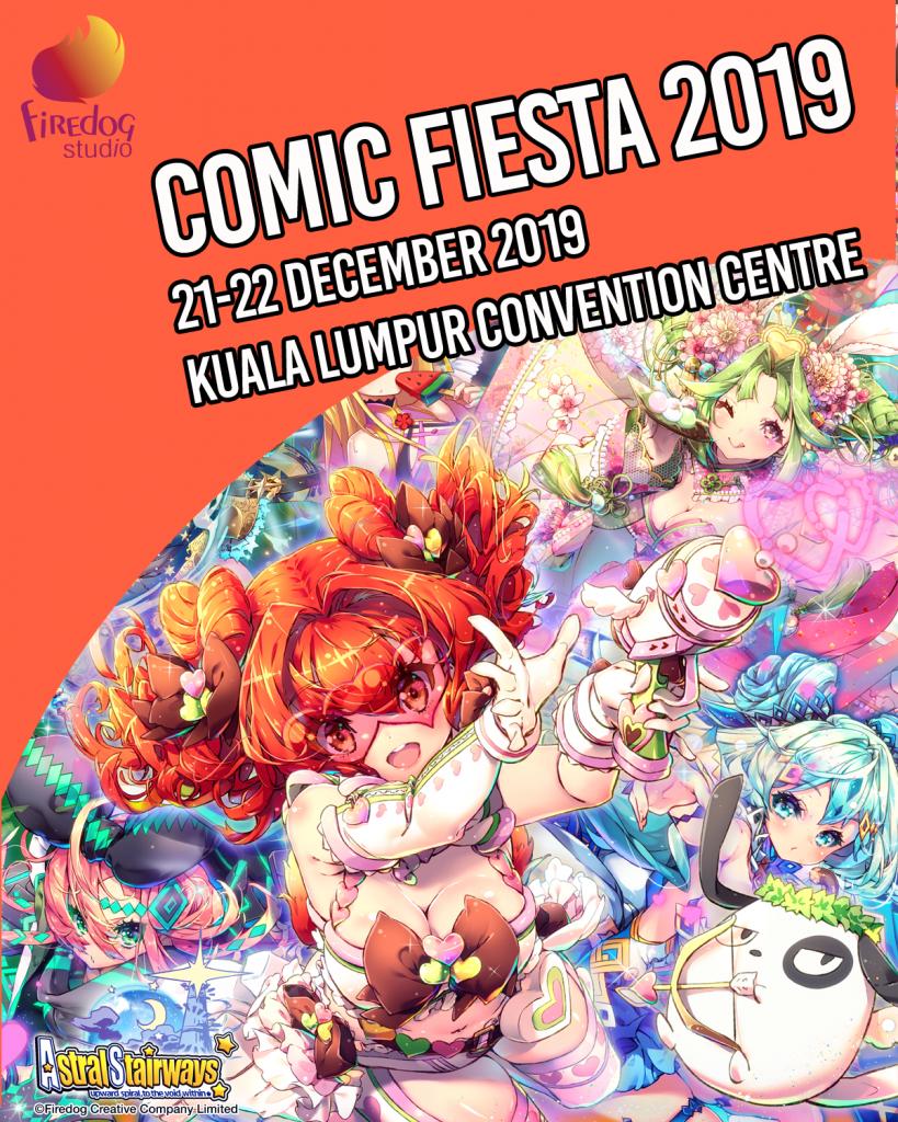 Firedog in Comics Fiesta 2019